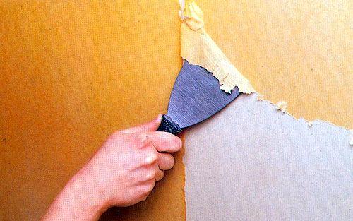 Удаляем старые покрытия