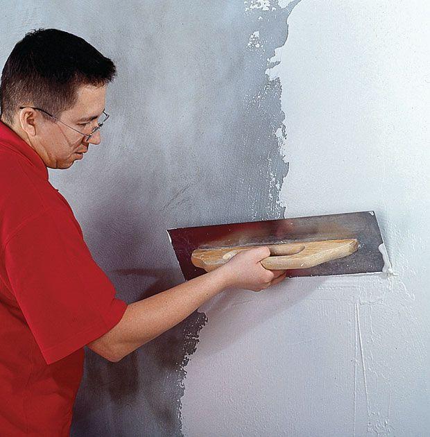 Выравнивание стен шпаклевкой своими руками