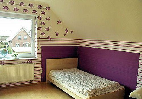 Самые интересные способы сочетания и оклейки стен обоями.
