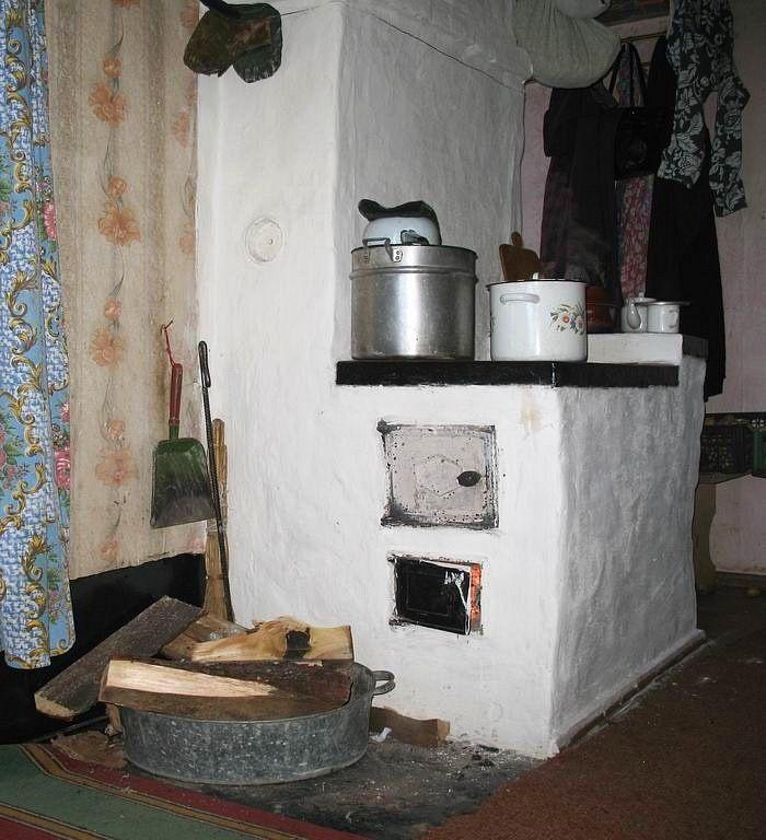 скорее фото старых русских печей в деревне без