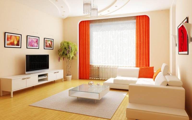 Выбор цвета обоев для зала