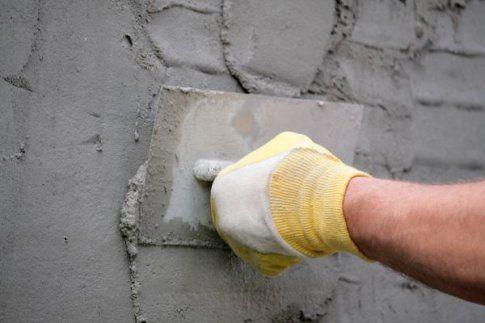 Расход цемента на штукатурку