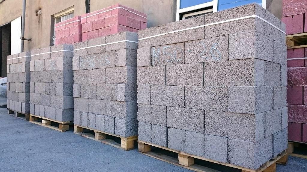 Материал для стен. Керабзитобетонные блоки