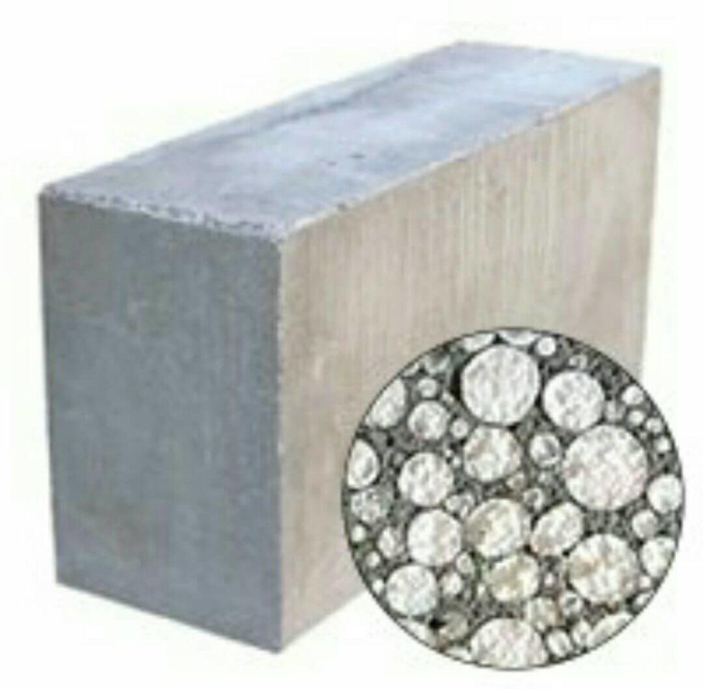 Полистироловый блок и его структура