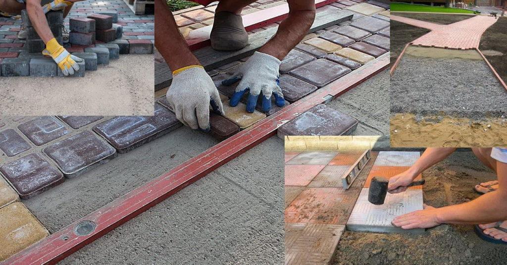 Тротуарная плитка. Инструменты
